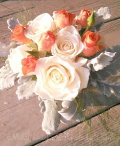 vendela orange spray rose bouquet