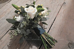 White and Gray Bouquet 2